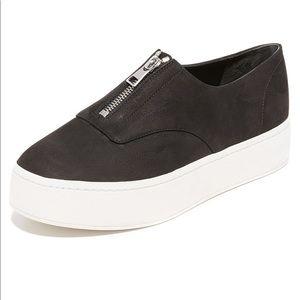 Vince Zip-Up Platform Sneaker